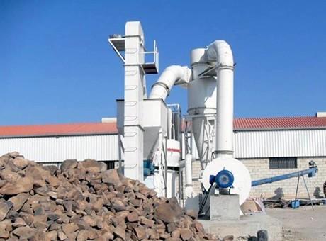calcium carbonate Raymond mill
